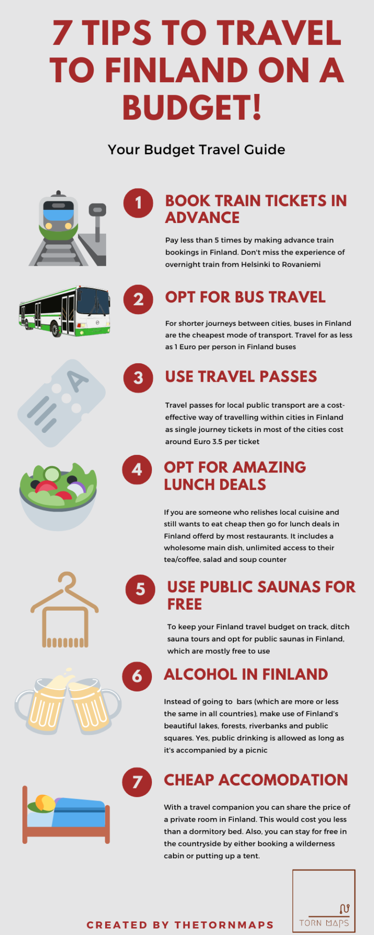 How To Travel To Finland On A Budget The Torn Maps